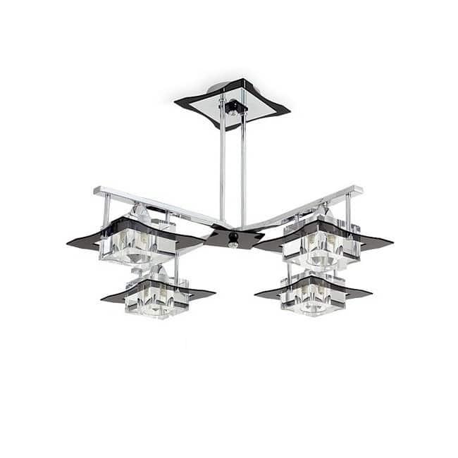 Lámpara de techo META estrella (4 luces)
