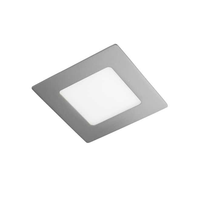 Downlight LED cuadrado Extraplano 12W