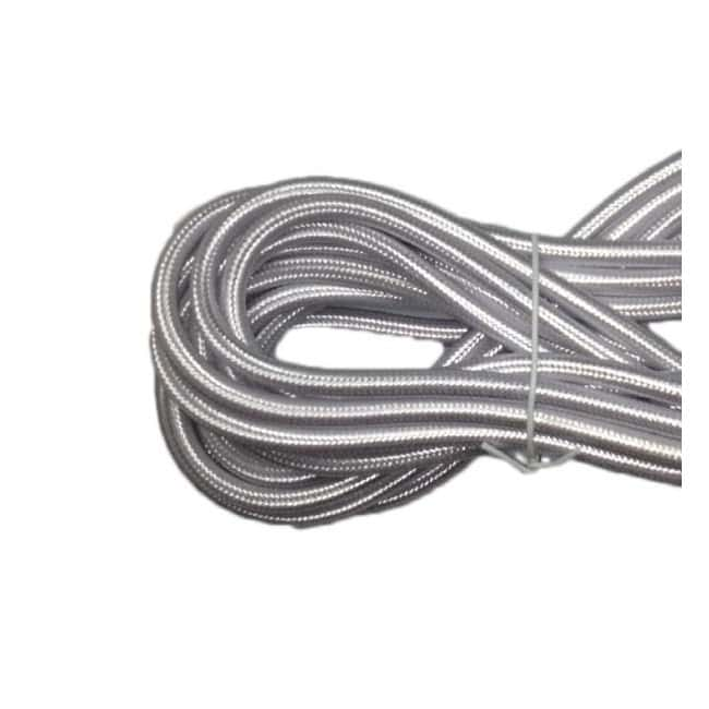 Cable textil plata