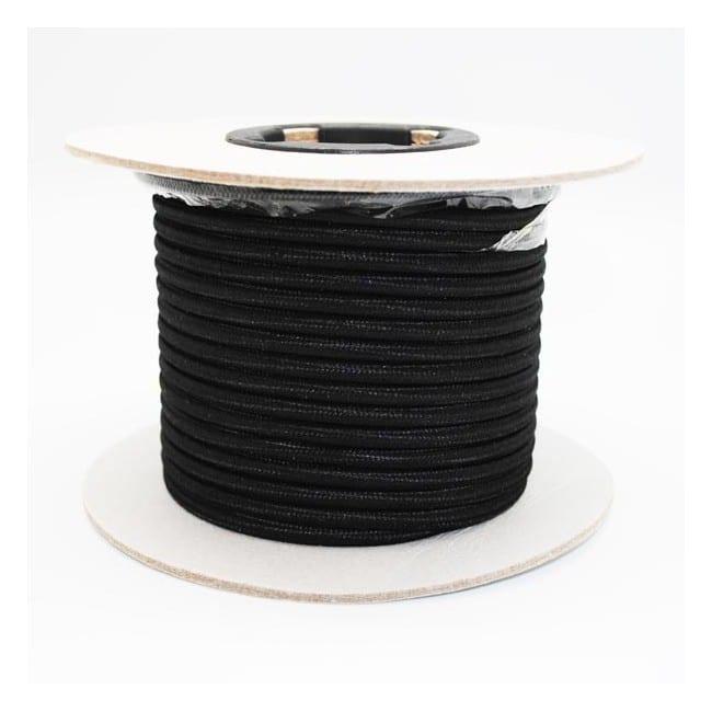 Rollo cable textil negro