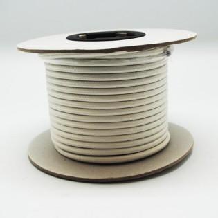 Rollo cable textil marfil