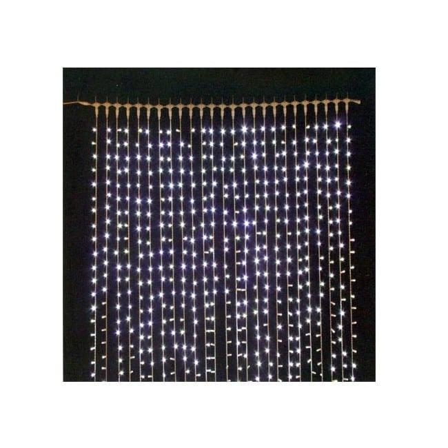 Guirnalda cortina de luces led 1 4x1 6 metros for Cortinas con luces