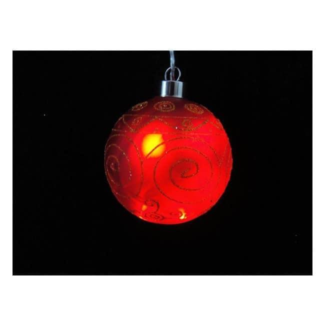 Bola cristal luz LED círculos