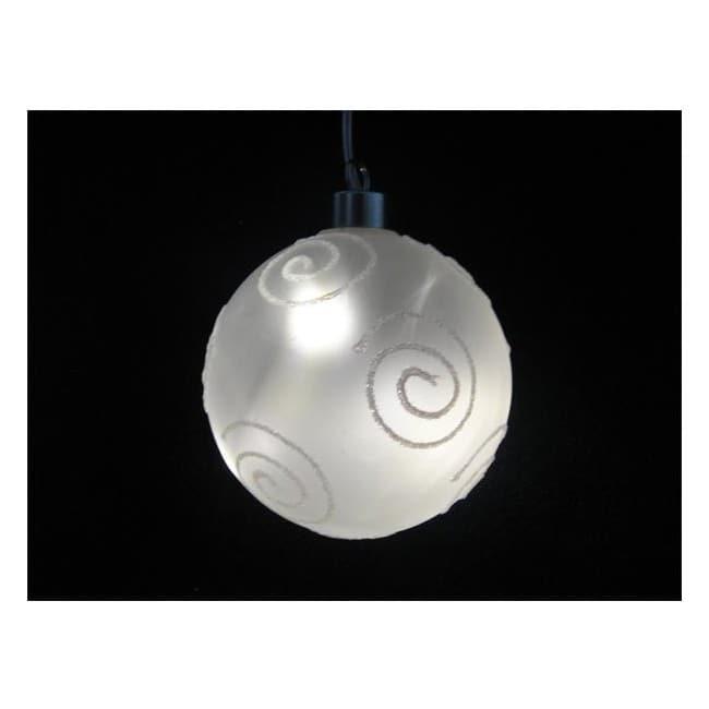 Bola cristal luz LED circulos