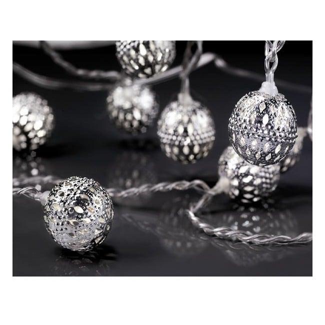 Guirnalda 8 bolas led diamond