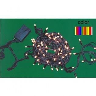 Guirnalda LED multicolor (exterior)