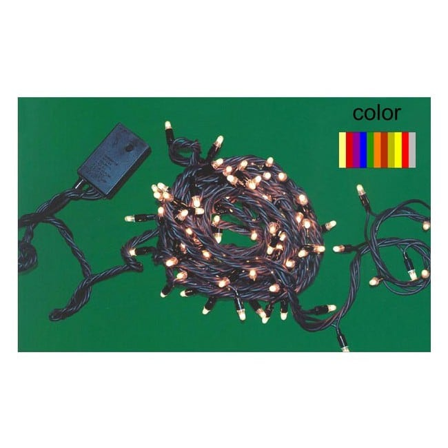 Guirnalda LED multicolor (exterior)