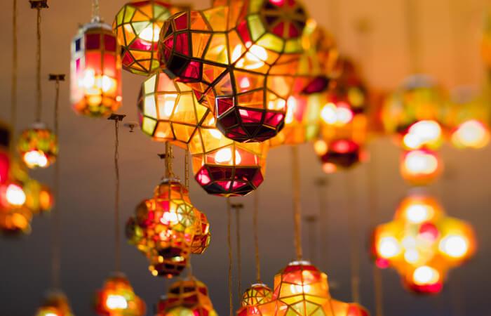 Spanish design lamps