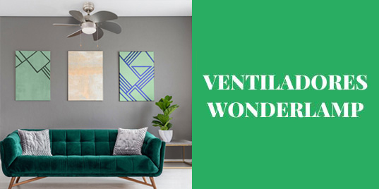 Ventiladores Wonderlamp