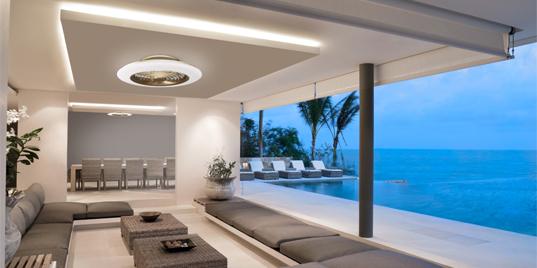 Plafón Ventilador de techo LED Alisio