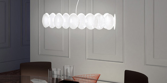 Milan. Spanish manufacturer of lighting and lamps