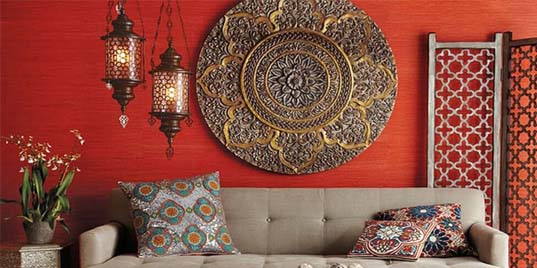 Lampes orientales. Style d'éclairage oriental