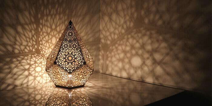 Lampes artisanales fabriquées en Espagne