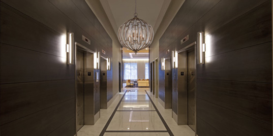 corridor lighting and downlights