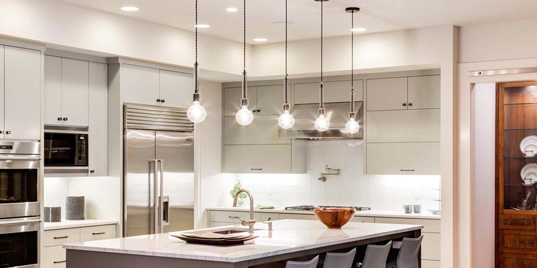 Kitchen lighting and lamps