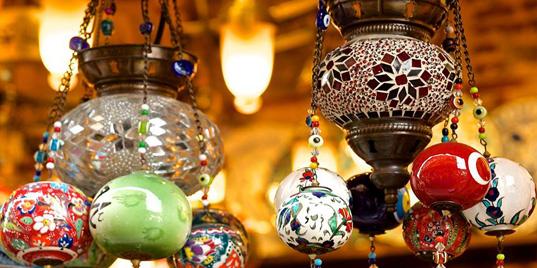 Style d'éclairage oriental