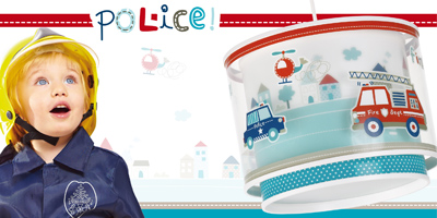 Collection lampes infantiles Police. Dalber.