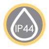 Grado de IP 44