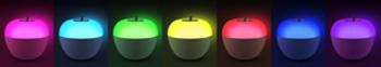 quitamiedos infantil LED apple