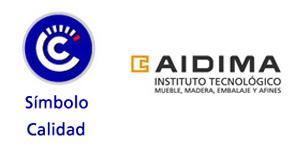 Certificat de label de qualité AIDIMA