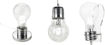 Collection of bulb lamps - Giant light bulb