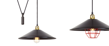 Harlem retro-vintage lamp collection by Luxcambra.