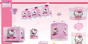 Colección lámparas Hello Kitty (Dalber)