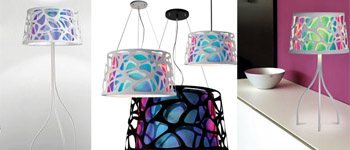 Lampes El Torrent Illumination. Lampes design Collection organic