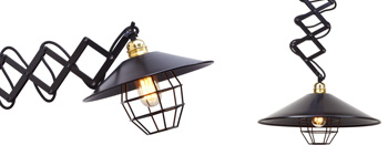 Collection des lampes industrielles Bronx de Luxcambra.
