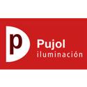 Logotipo de Pujol Iluminación fabricante de lámparas