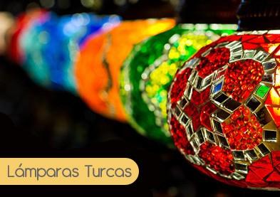Lámparas turcas - Lamparas.es