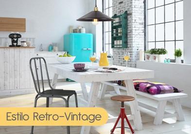 Estilo Retro-Vintage - Lamparas.es